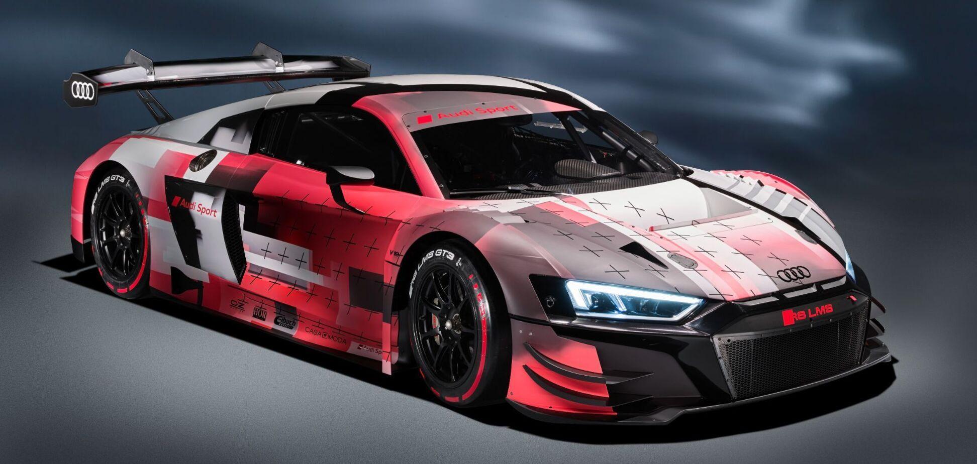 Audi Sport презентувала гоночний болід R8 LMS GT3 Evo II