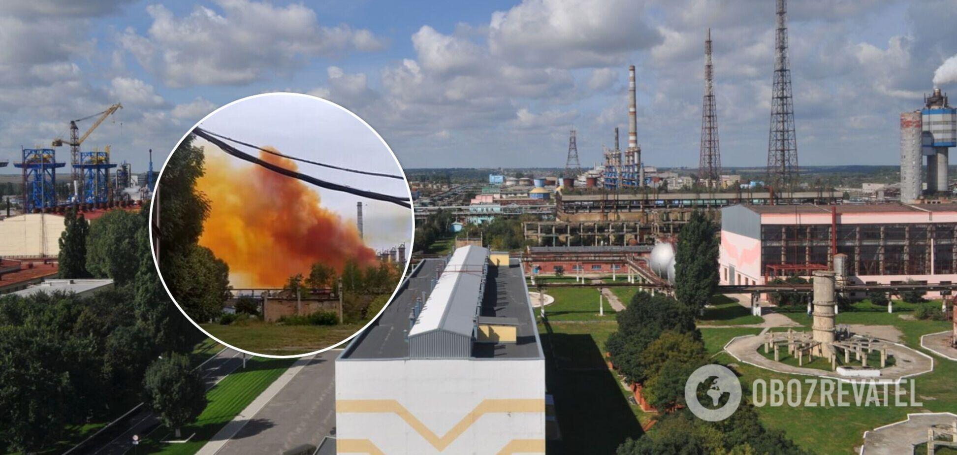 Цимбалюк назвал министра Абрамовского ответственным за аварию на 'Ривнеазоте'