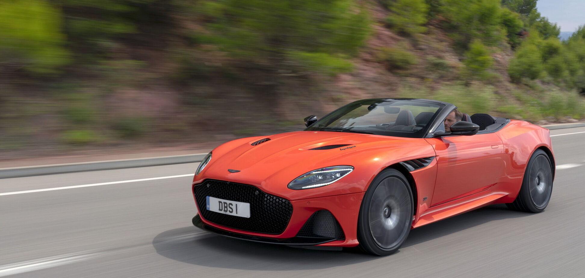 Aston Martin анонсировал обновления 2022 модельного года