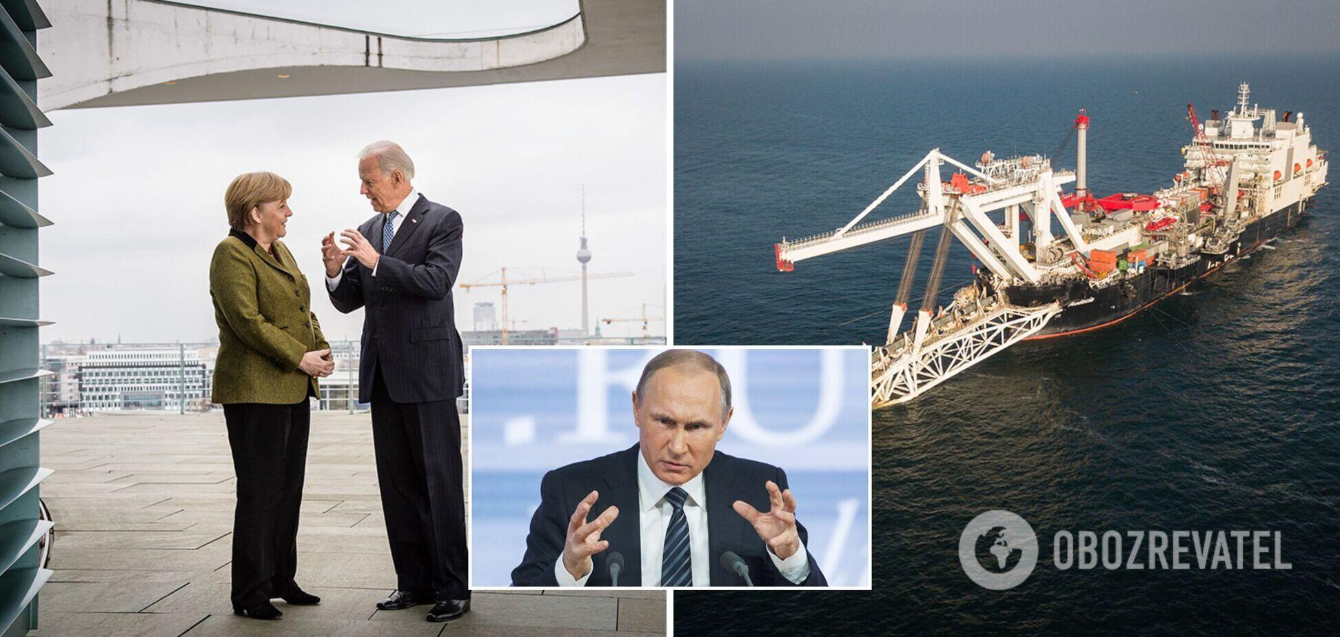 Путин победил? О чем договорились Байден и Меркель по 'Северному потоку-2' и что получит Украина