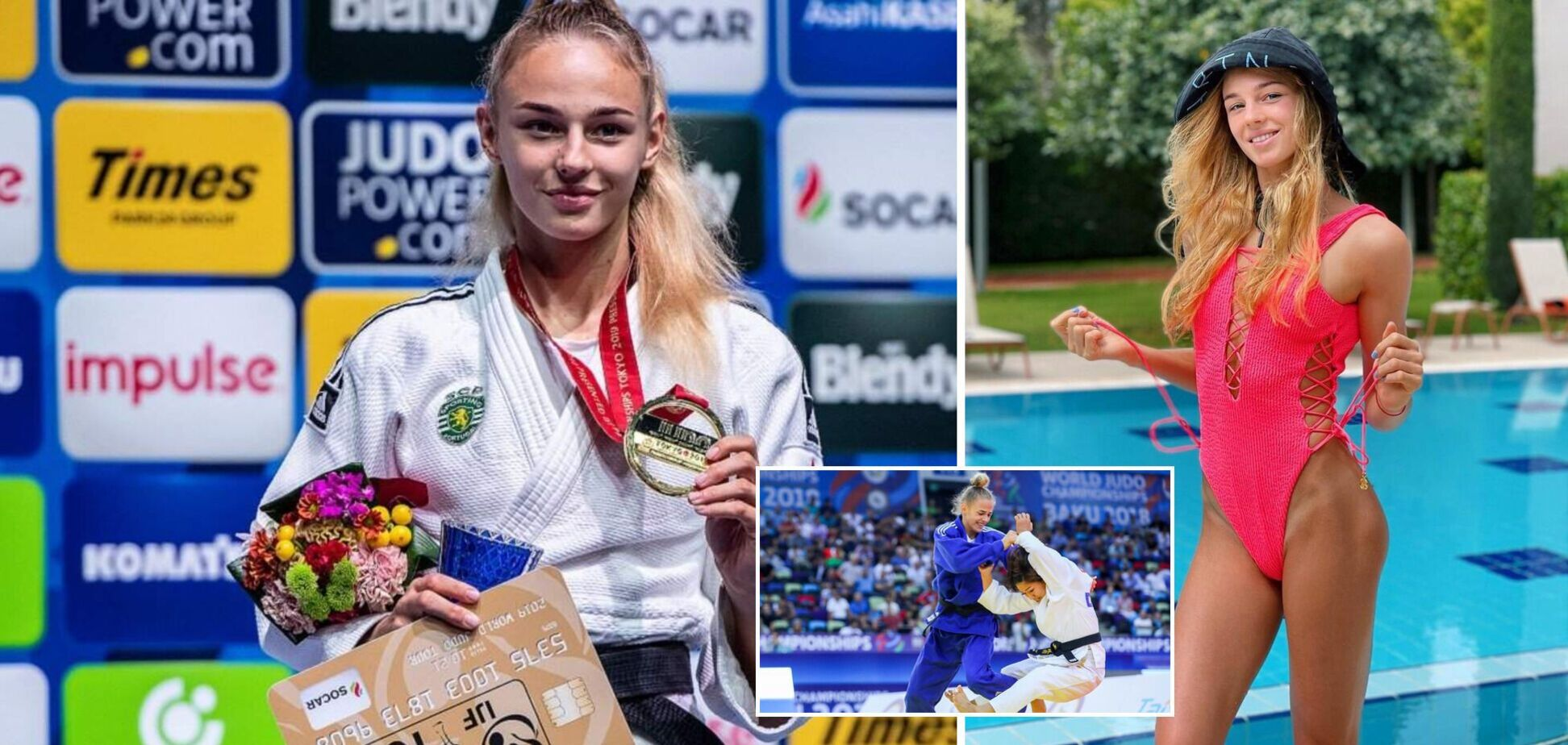 8 главных рекордов олимпийской надежды Украины Дарьи Белодед