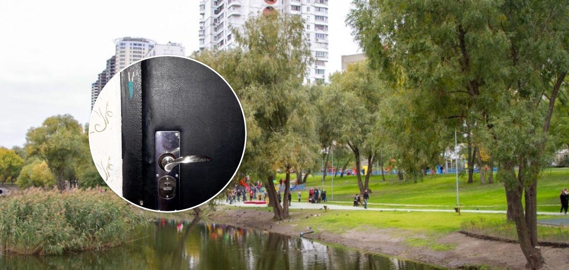 В Киеве неизвестные оставляют метки на дверях квартир: эксперт рассказал, как уберечься от грабителей. Фото