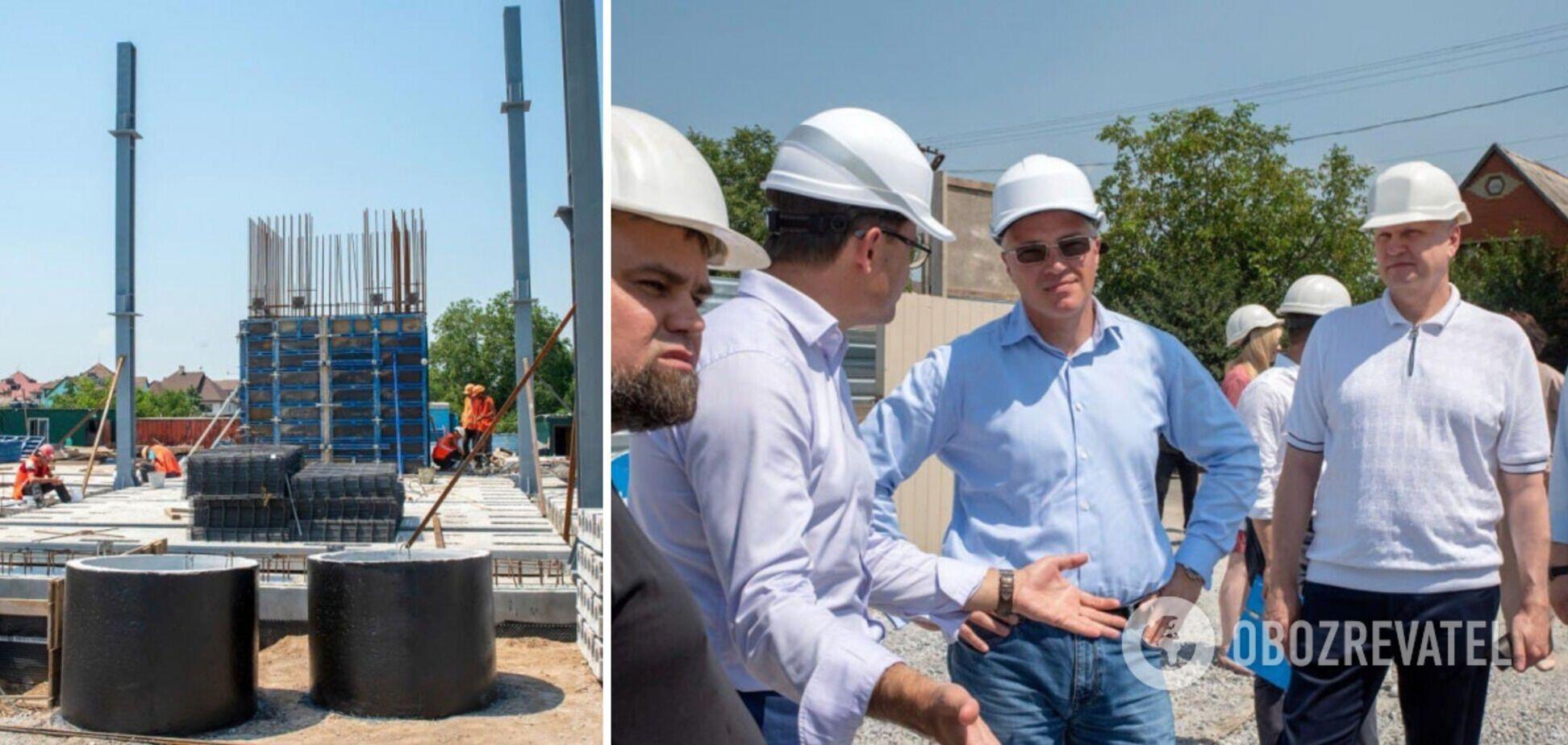 В Мариуполе строят первый в Украине стальной дом: на каком этапе работы. Фото