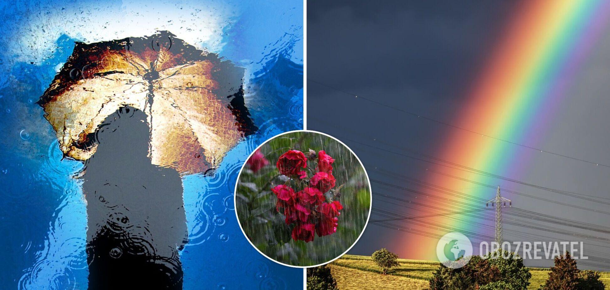 Погода 22 липня принесе в Україну дощі та зливи: синоптики попереджають про шквальний вітер і град