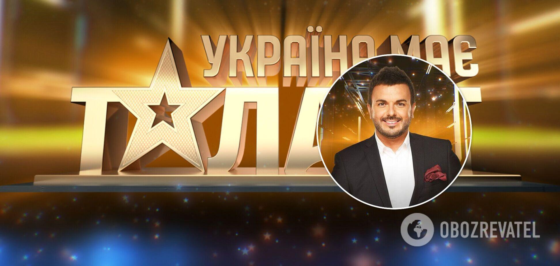 Названо имя нового звездного ведущего шоу 'Україна має талант'