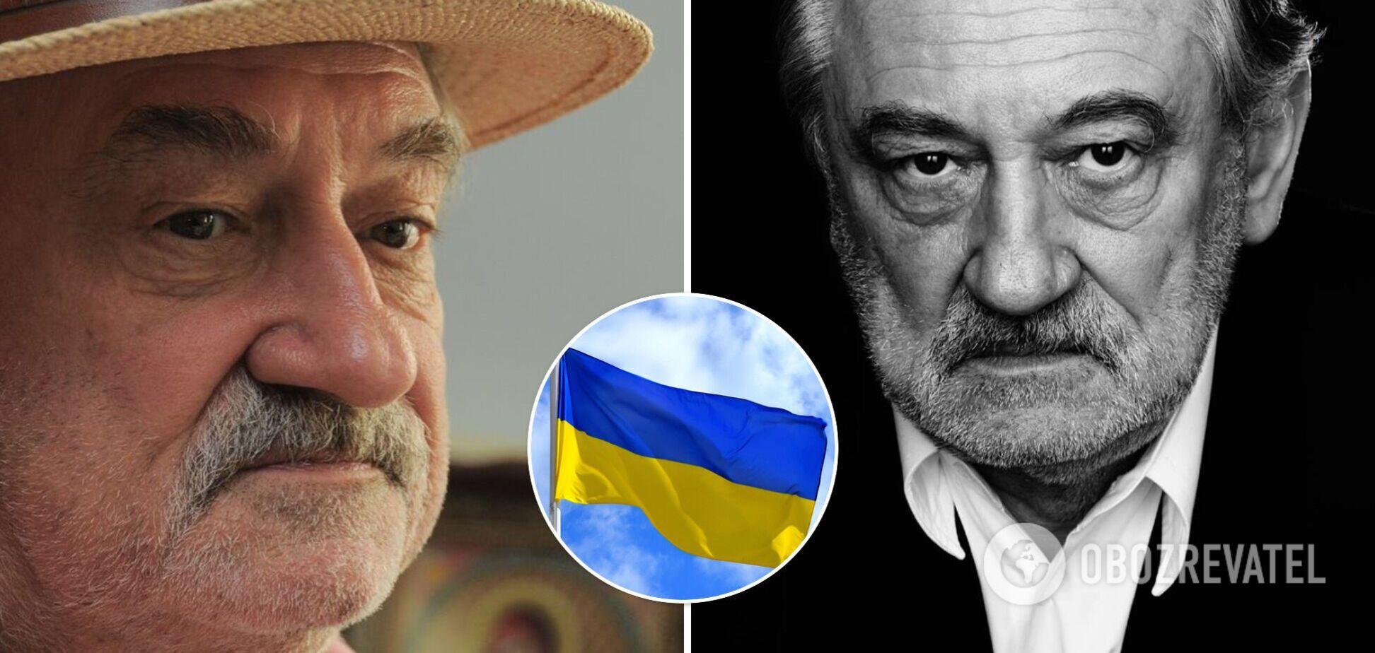 Актер Богдан Ступка умер в 70 лет