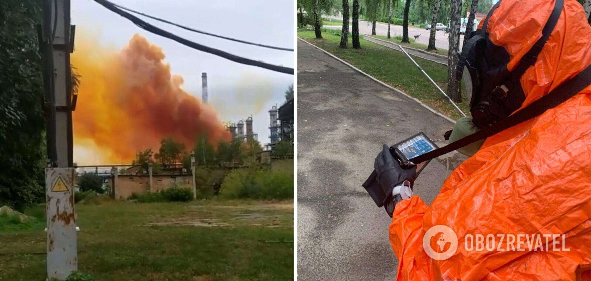 У МВС назвали попередню причину вибуху на 'Рівнеазоті'