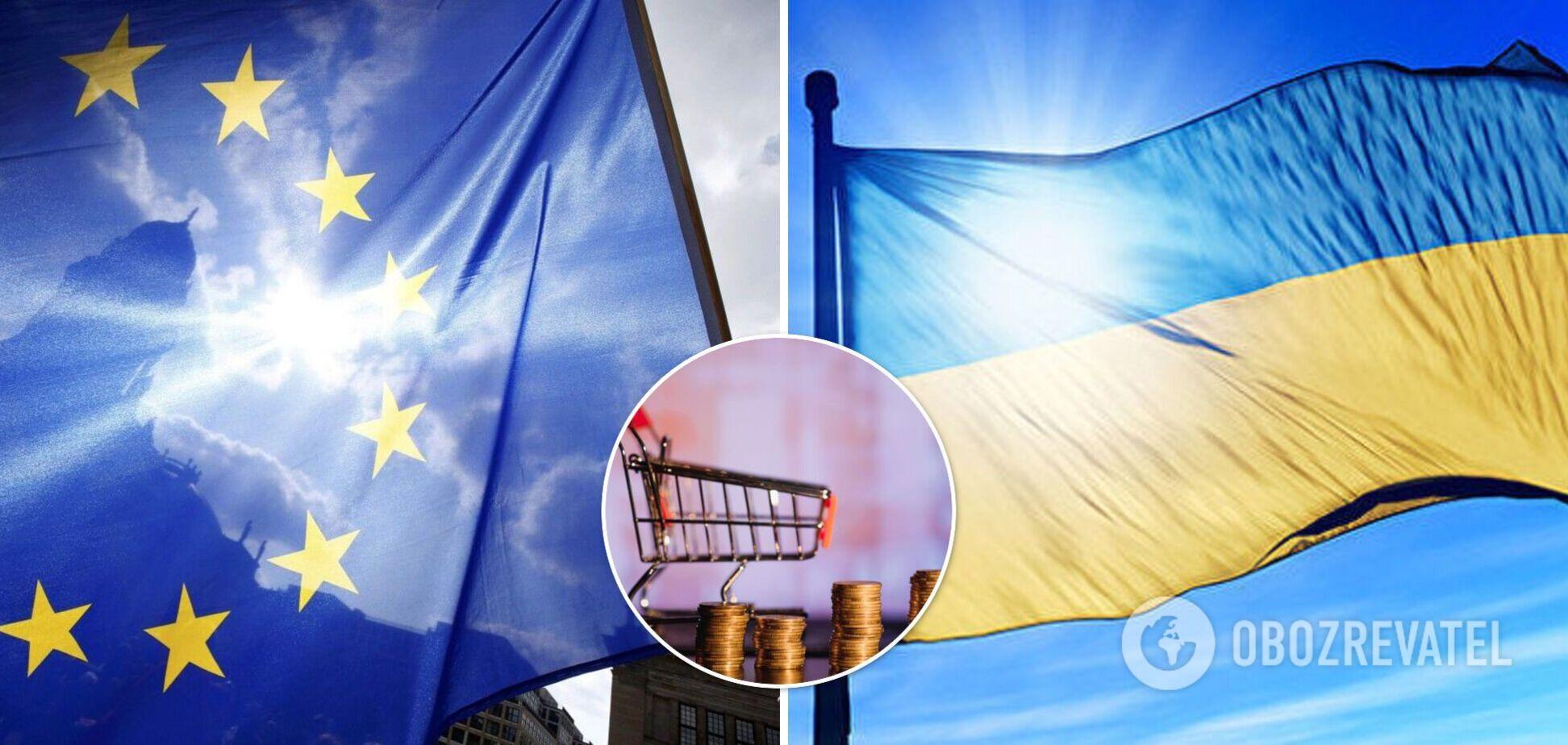 Ціни на одяг і меблі в ЄС нижчі, ніж в Україні