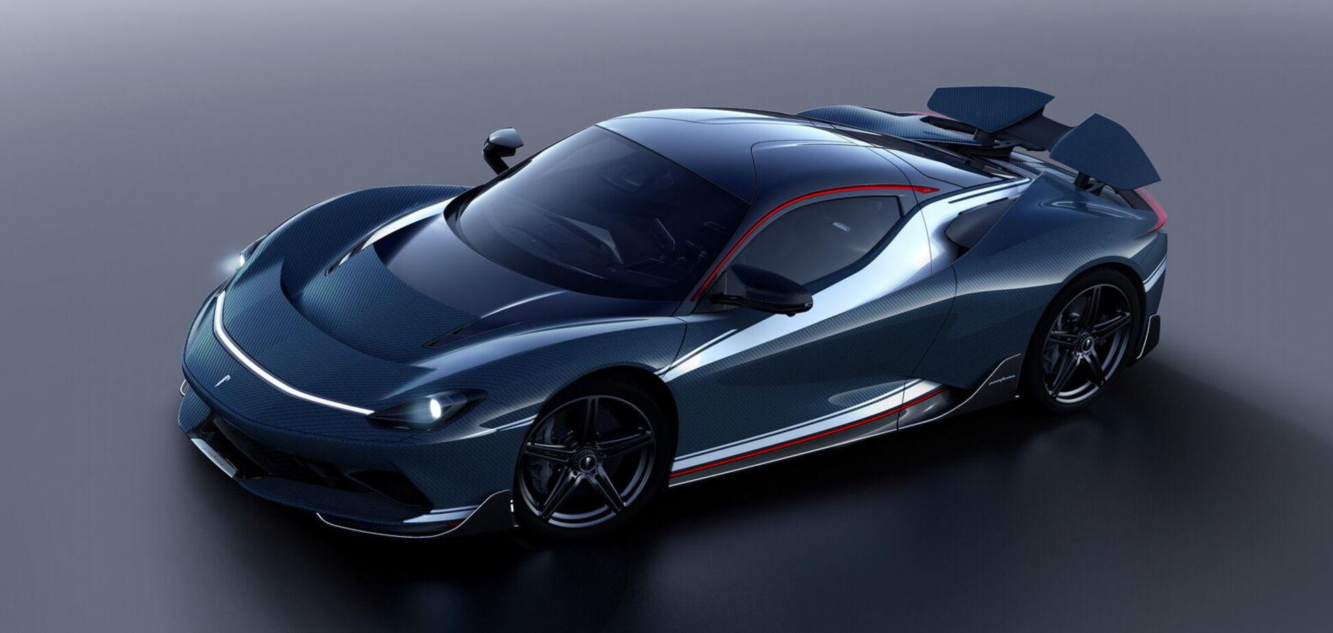 Pininfarina показала перший серійний суперкар Battista