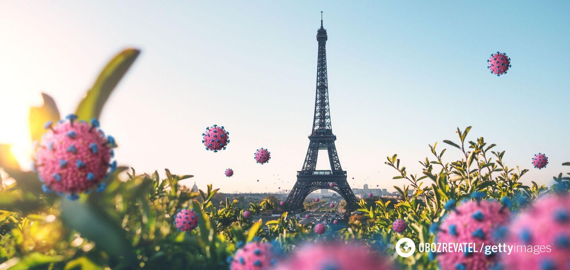 Штам Дельта викликав сплеск захворюваності у Франції