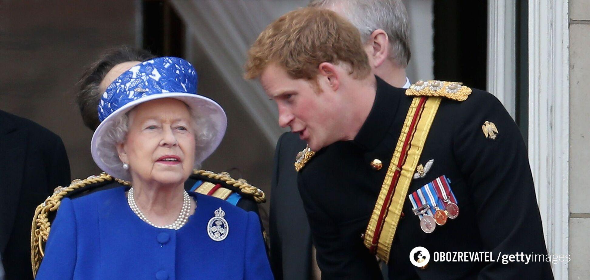 Принц Гарри рискует остаться без приглашения на юбилей Елизаветы II: в чем причина
