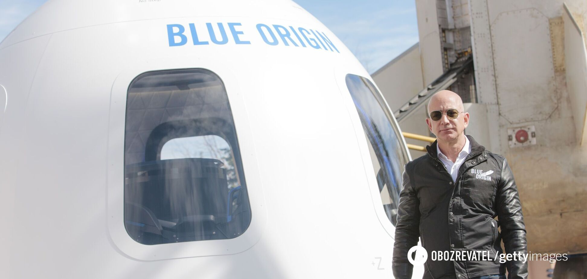 Джефф Безос показав відео з космосу