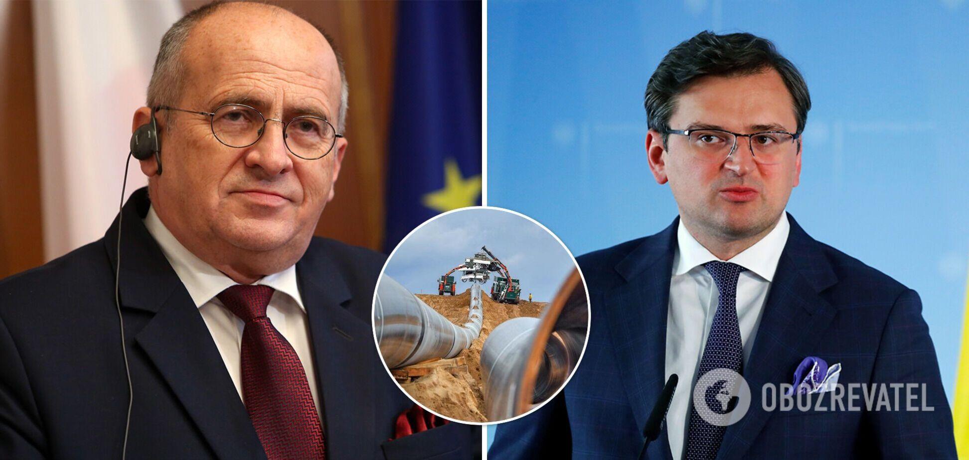 Україна і Польща продовжать боротьбу з 'Північним потоком-2': міністри виступили із заявою