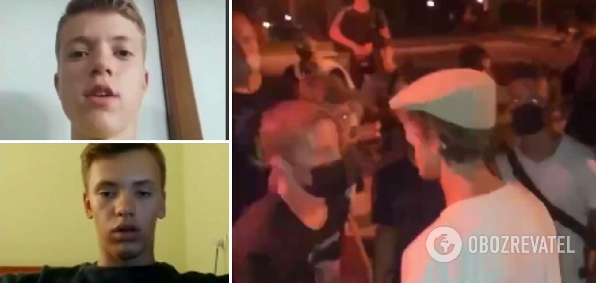 У Вінниці натовп підлітків побив хлопця через зачіску, затримані винуватці записали вибачення. Відео