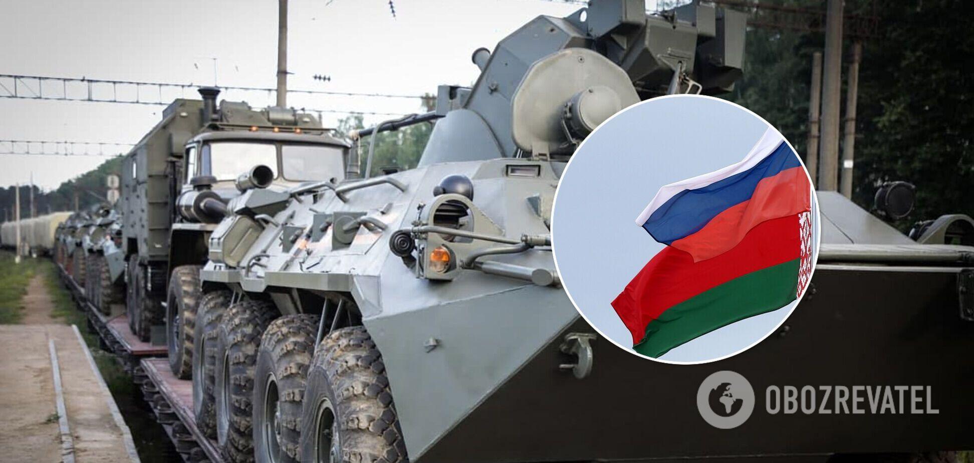 Військова техніка РФ стягується в Білорусь: Лукашенко боїться не пережити бунт?