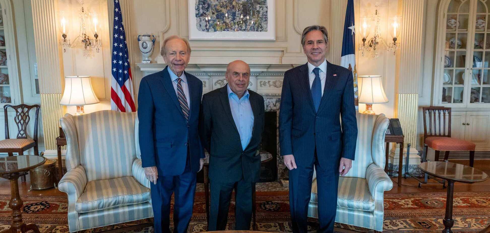 Держсекретар США Блінкен зустрівся з головою наглядової ради Меморіалу Голокосту 'Бабин Яр'