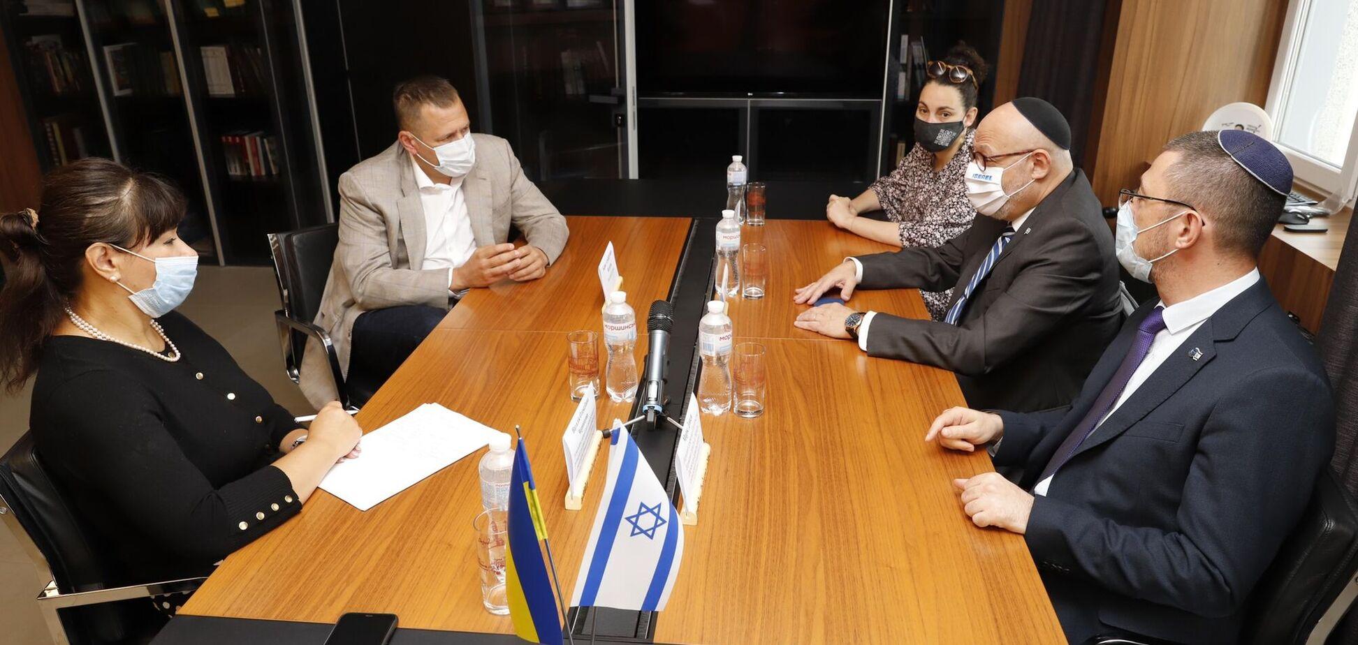 Днепр – важный город, здесь есть экономический потенциал, – посол Израиля в Украине
