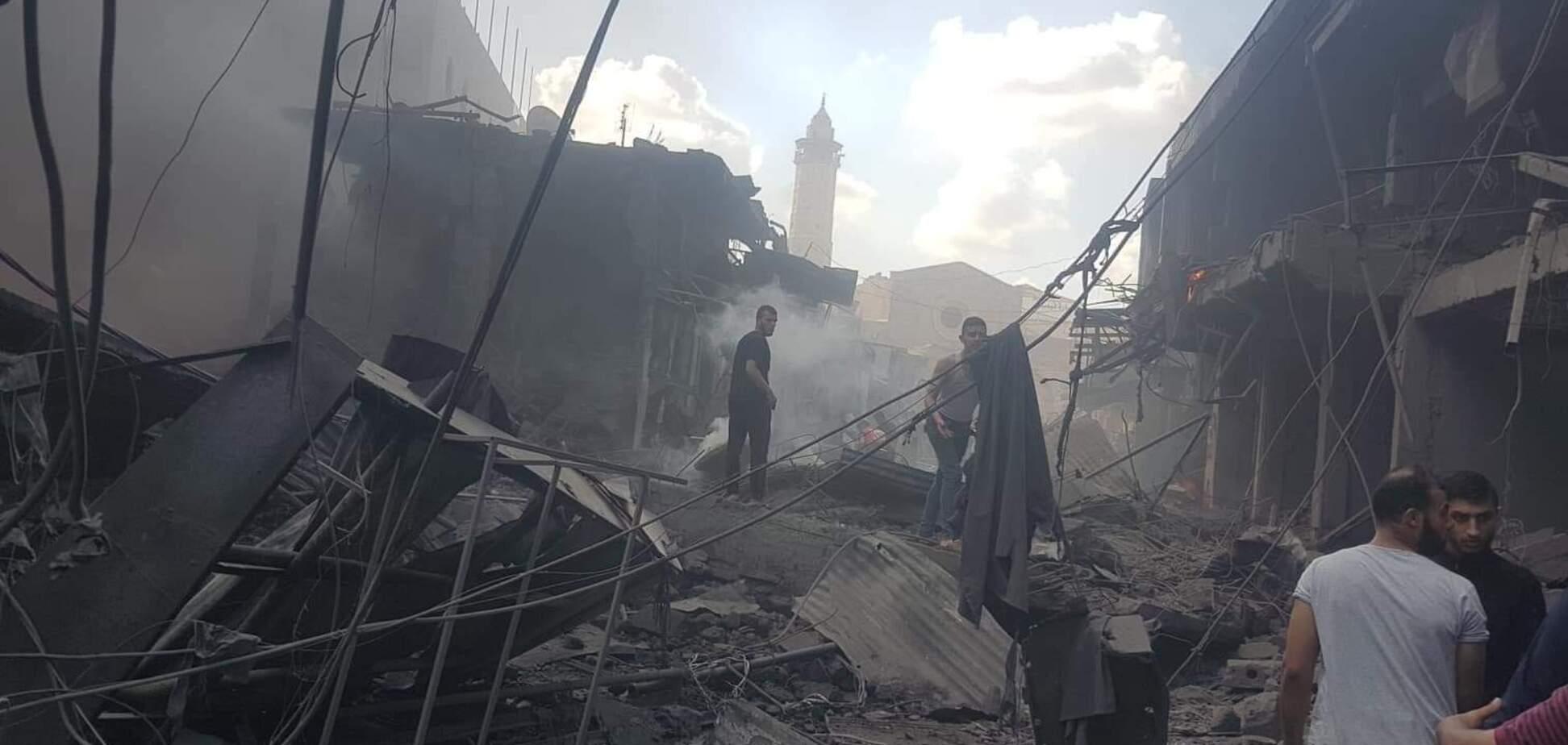 В секторе Газа прогремел взрыв