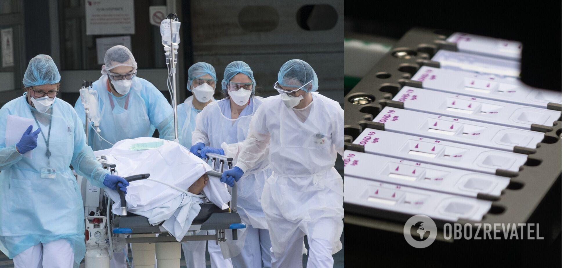 Спада COVID-19 в Украине нет: эпидемиолог заявил о манипуляциях со статистикой