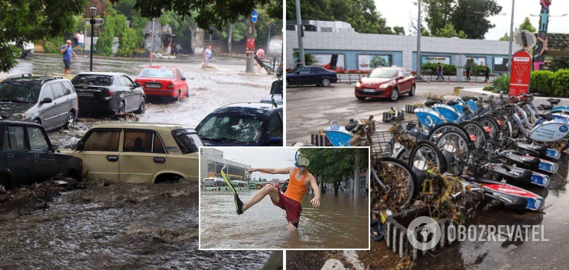В Укргидрометцентре назвали причины потопа в Одессе и предупредили о новых ЧП