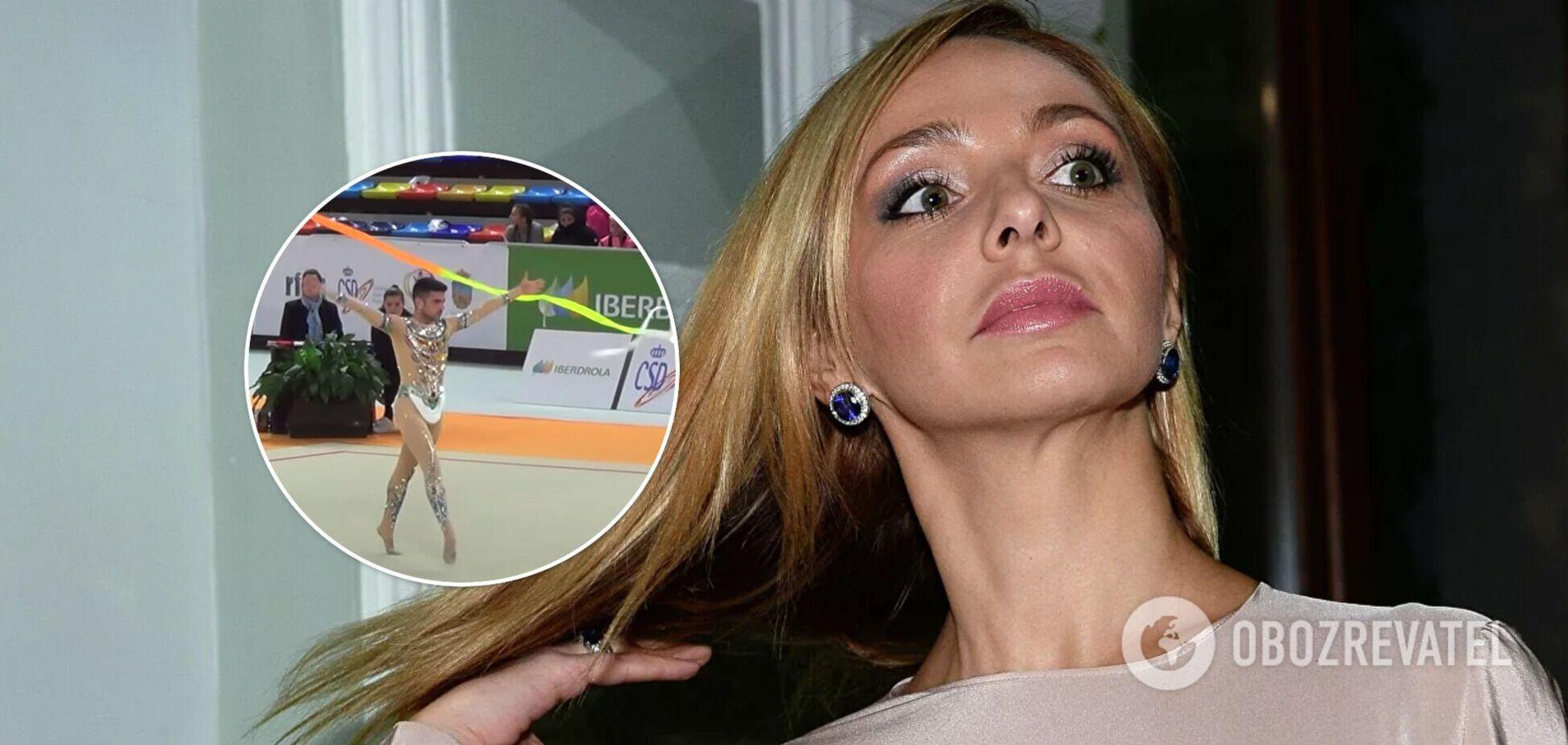 Дружина Пєскова виступила проти чоловіків у художній гімнастиці та була висміяна в мережі