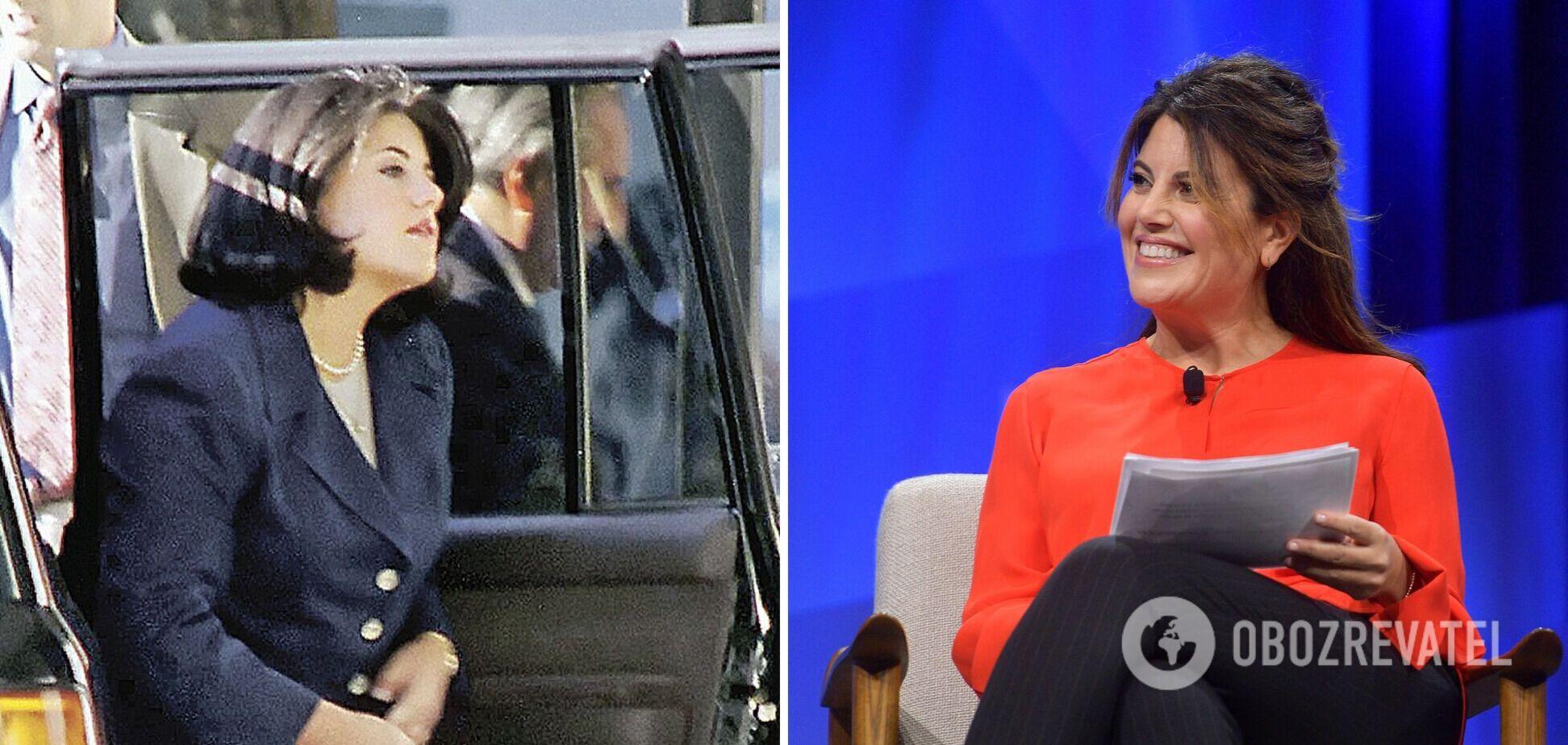 Монике Левински – 48: как сейчас выглядит любовница 42-го президента США