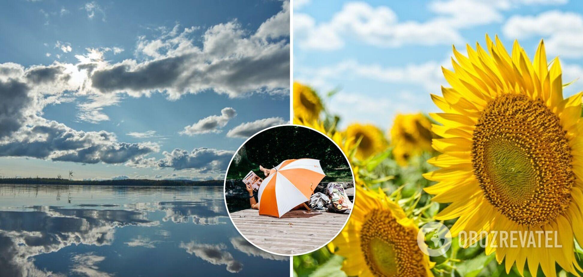 В Україні після похолодання і злив повернеться спека: синоптики дали прогноз і назвали дату