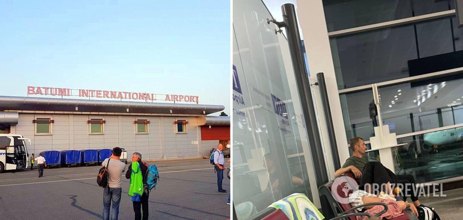 Украинцы застряли в аэропорту Грузии почти на сутки: авиарейс уже прибыл в Харьков. Видео
