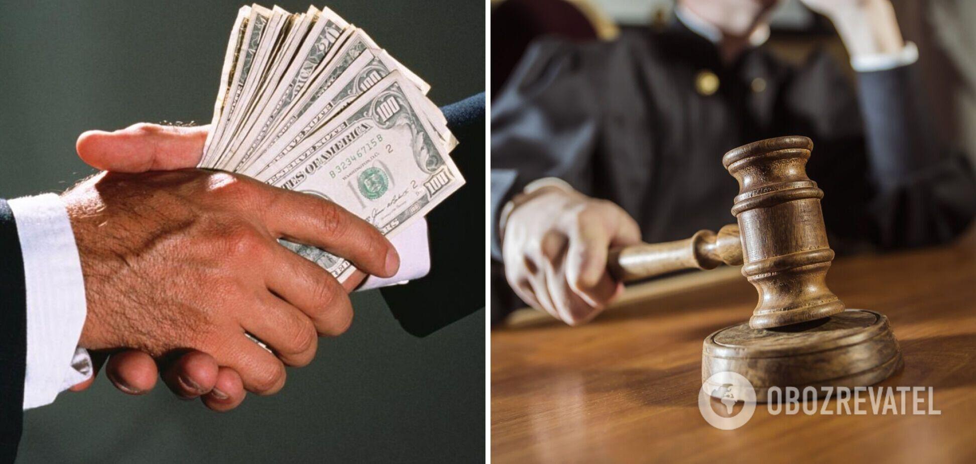 В Украине более половины приговоров за коррупцию в 2021 году были оправдательными