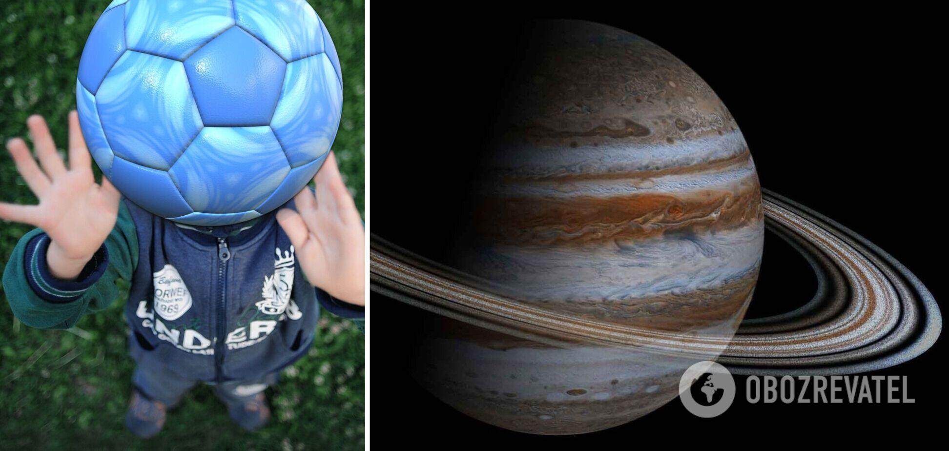 Как будет падать мяч на разных планетах: ученый показал видео и назвал лучшее место для игры
