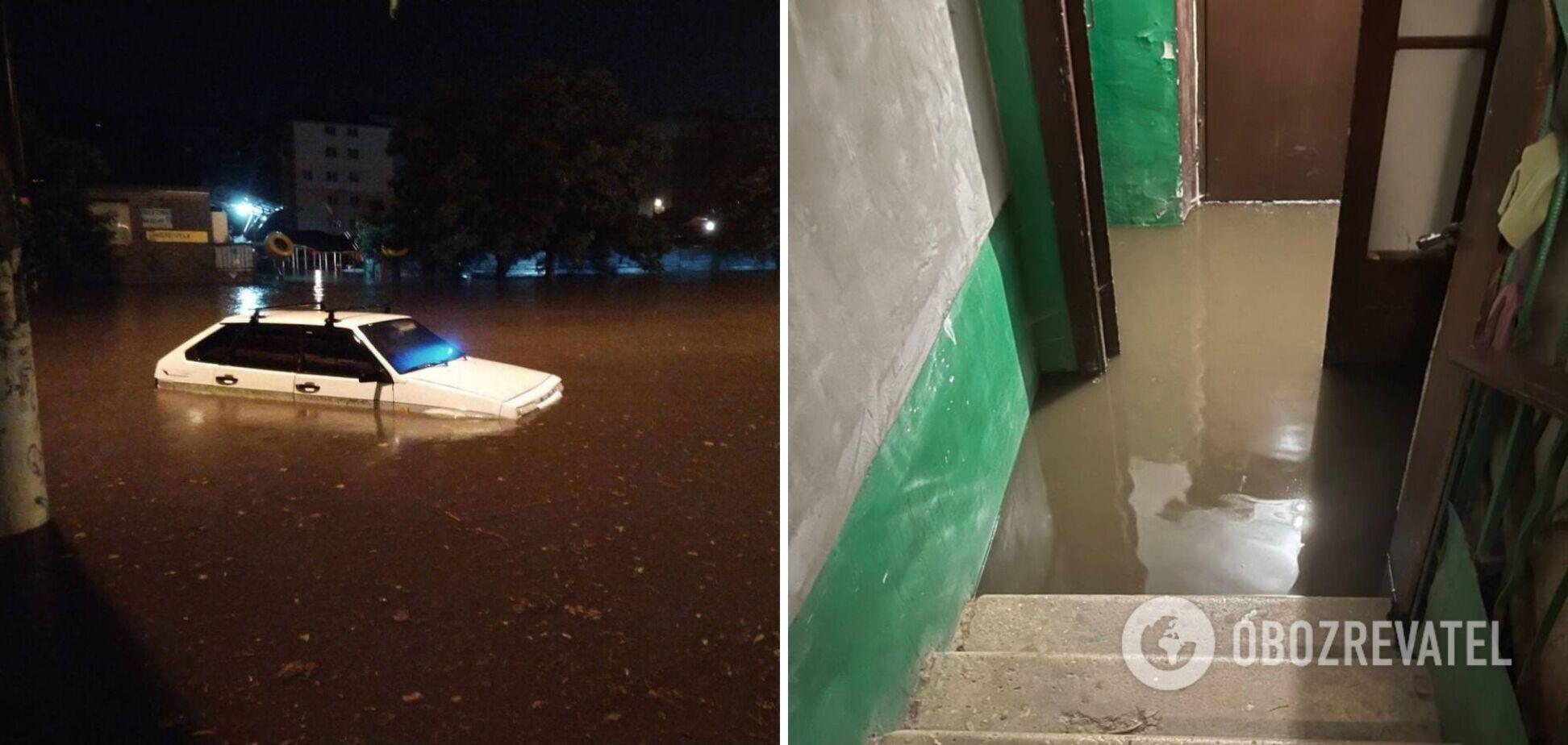 Потоки води збивали людей з ніг: Одесу накрила найпотужніша злива з 2013 року. Фото та відео