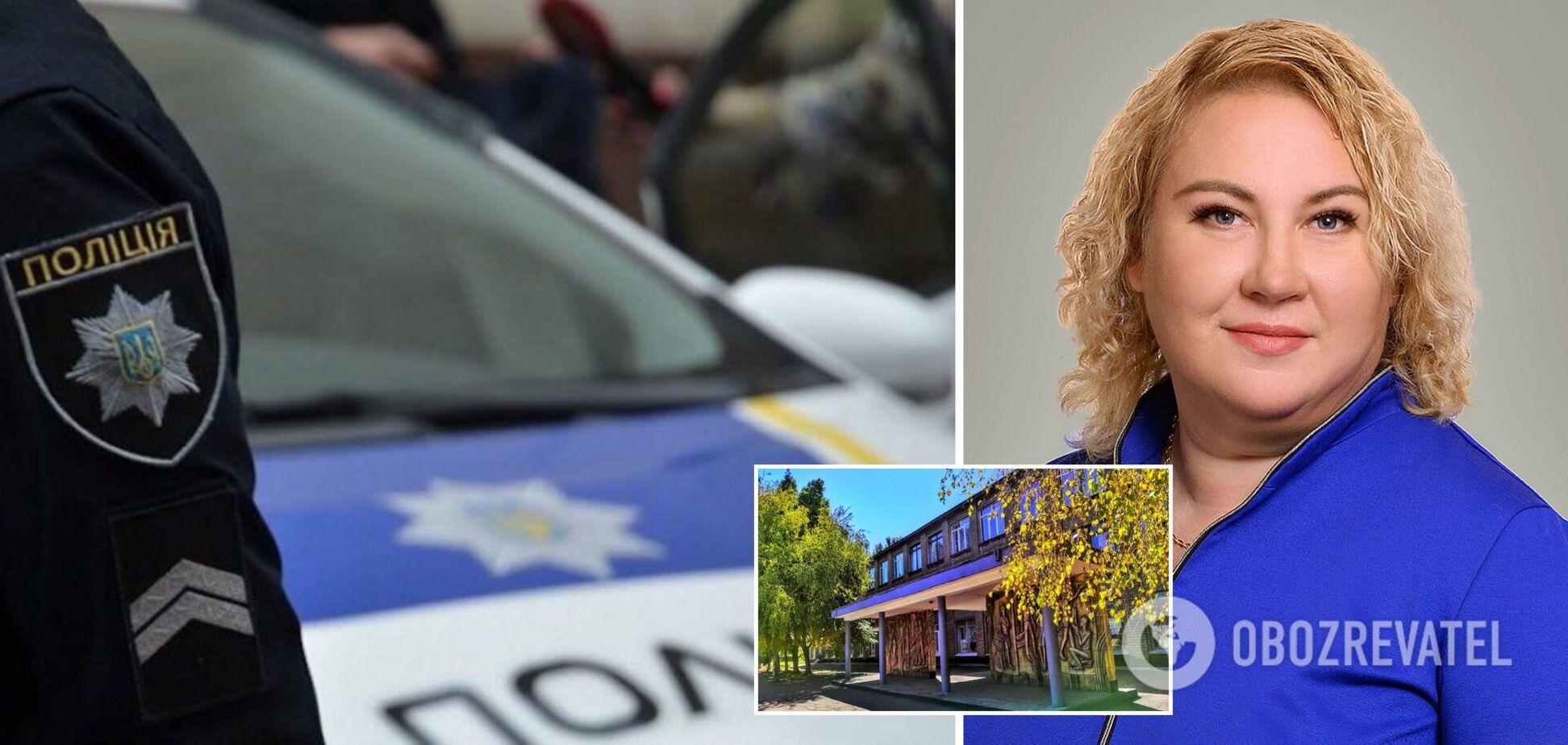 У Запоріжжі п'яна директорка школи влаштувала скандал з поліцією: звинуватила у спробі згвалтувати. Відео