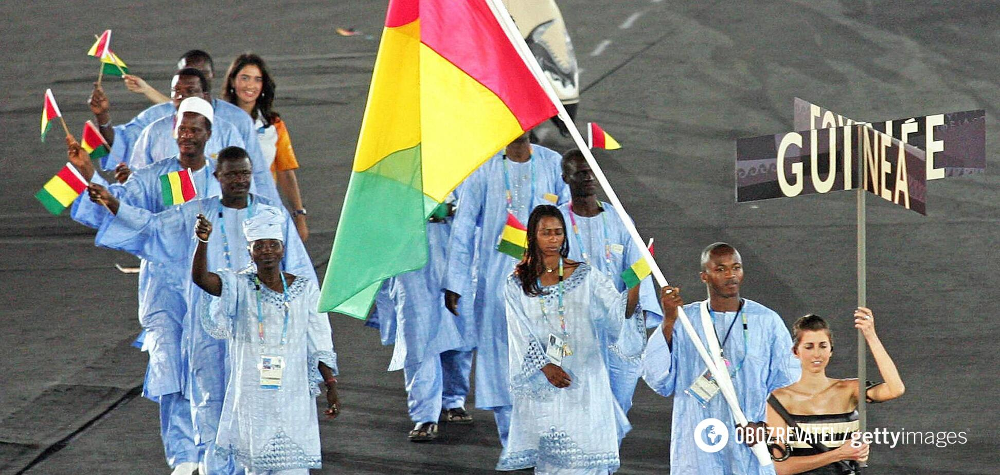 Гвинея не выступит на Олимпиаде в Токио