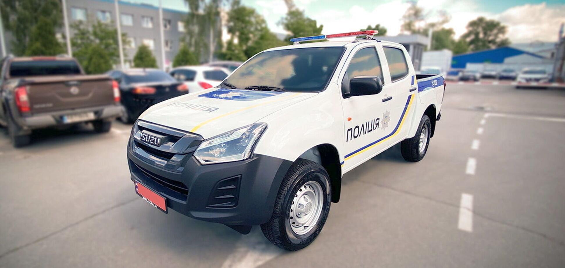 Патрульная полиция Украина получила пикапы Isuzu D-Max