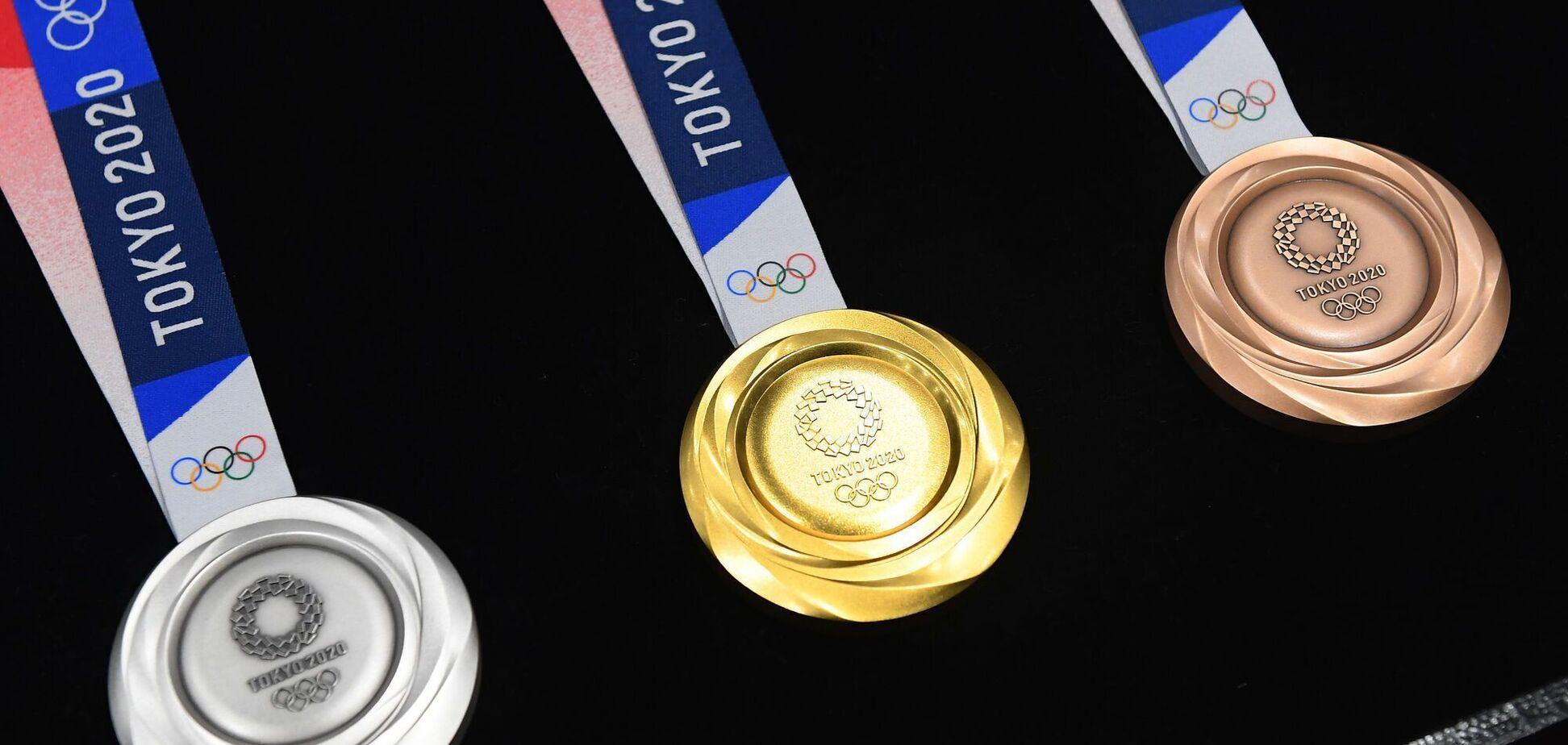 Олимпиада-2020: медальный зачет