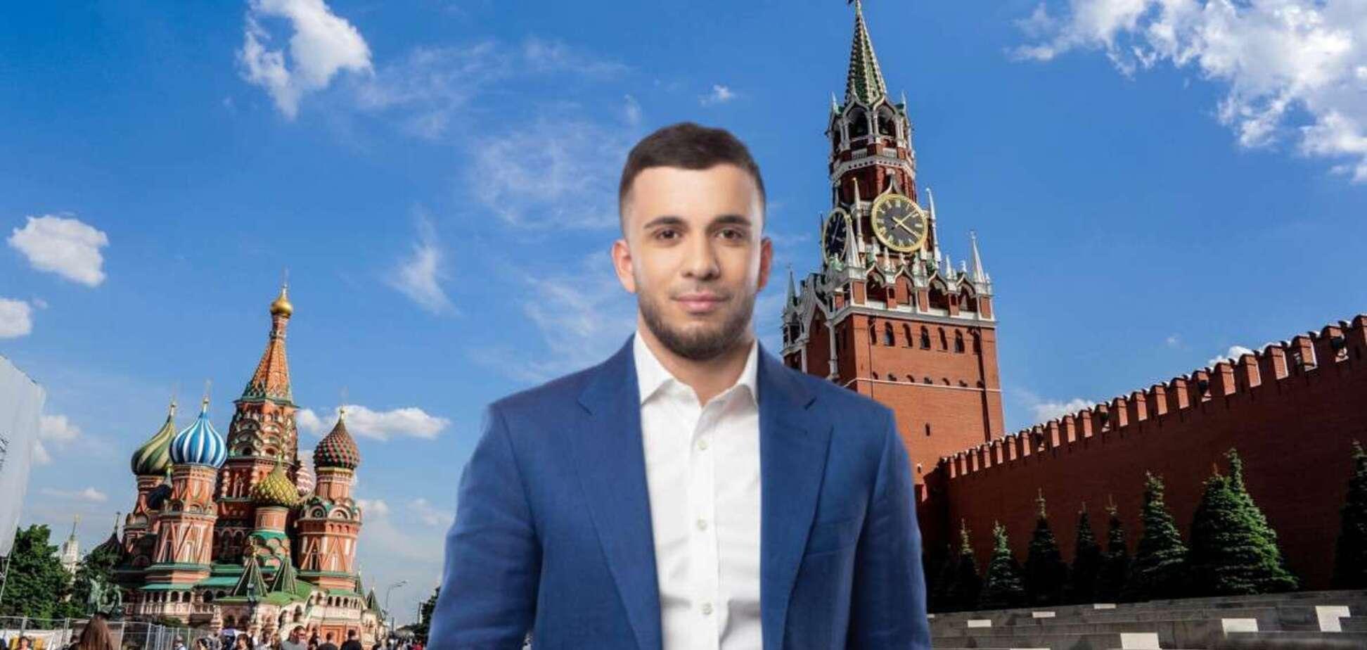 Сын скандального экс-кандидата в мэры Днепра Загида Краснова уехал в Москву