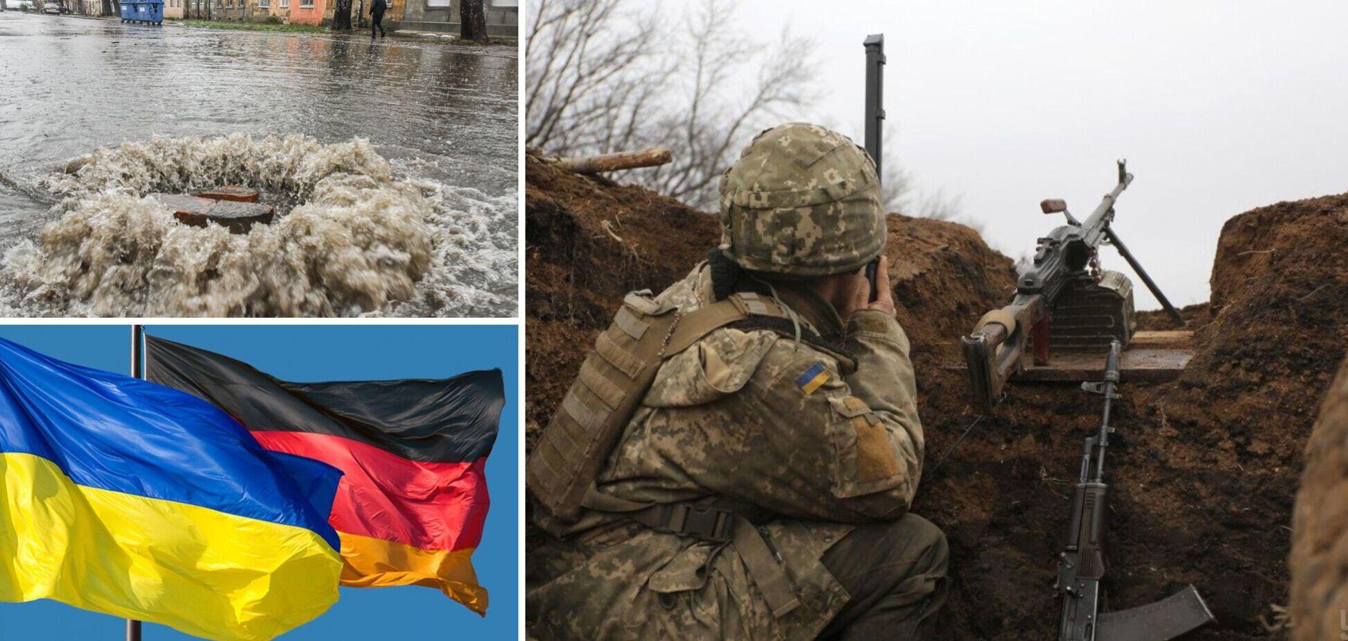 Новости Украины: требования Германии по Донбассу и Одесса под водой