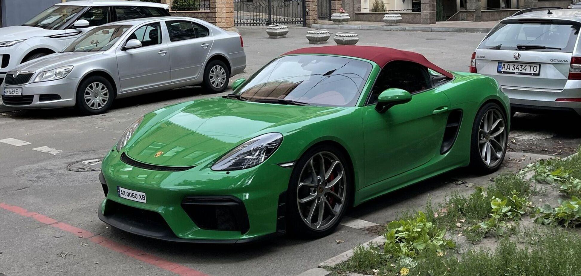 В Киеве обнаружили редкий Porsche 718 Spyder