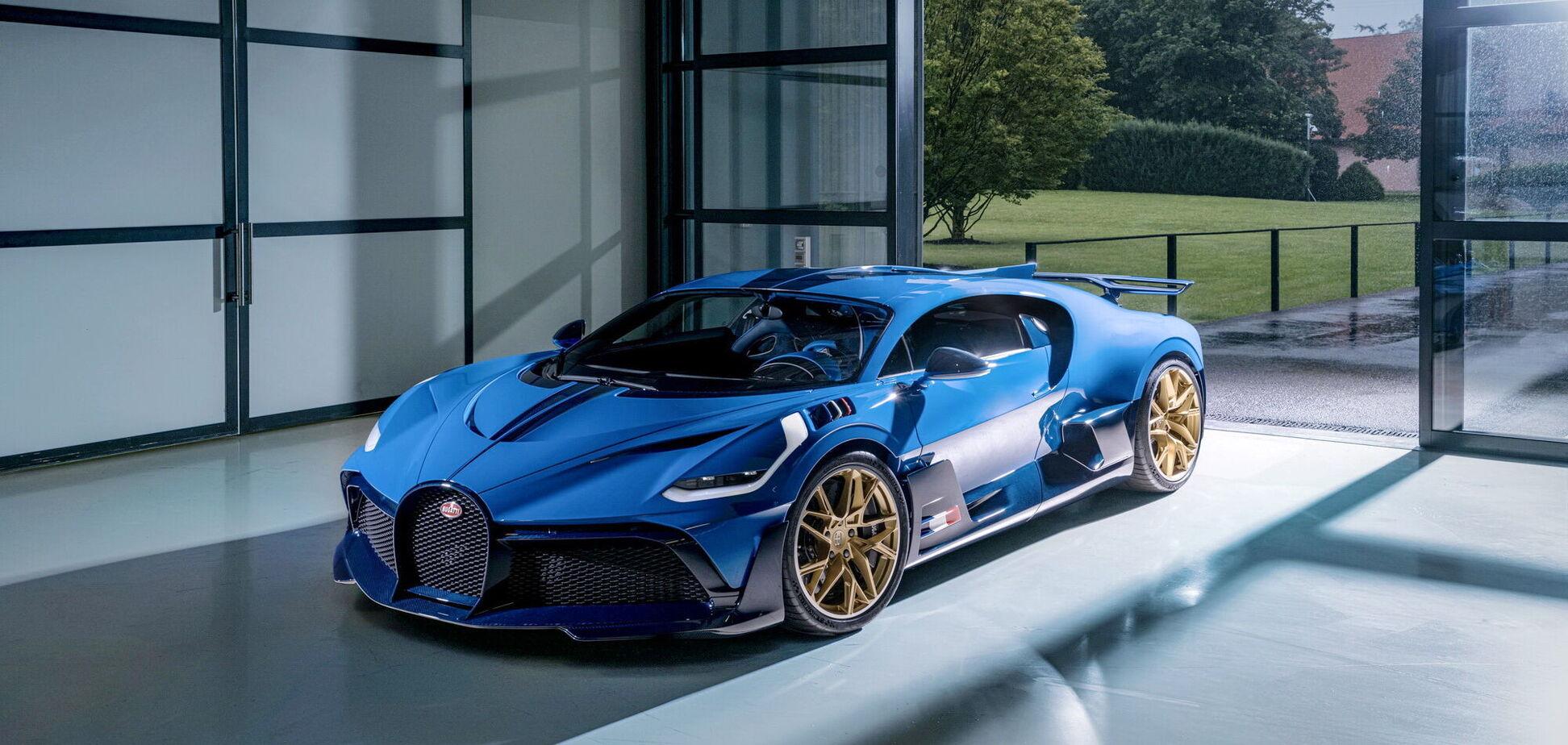К заказчику отправился последний гиперкар Bugatti Divo