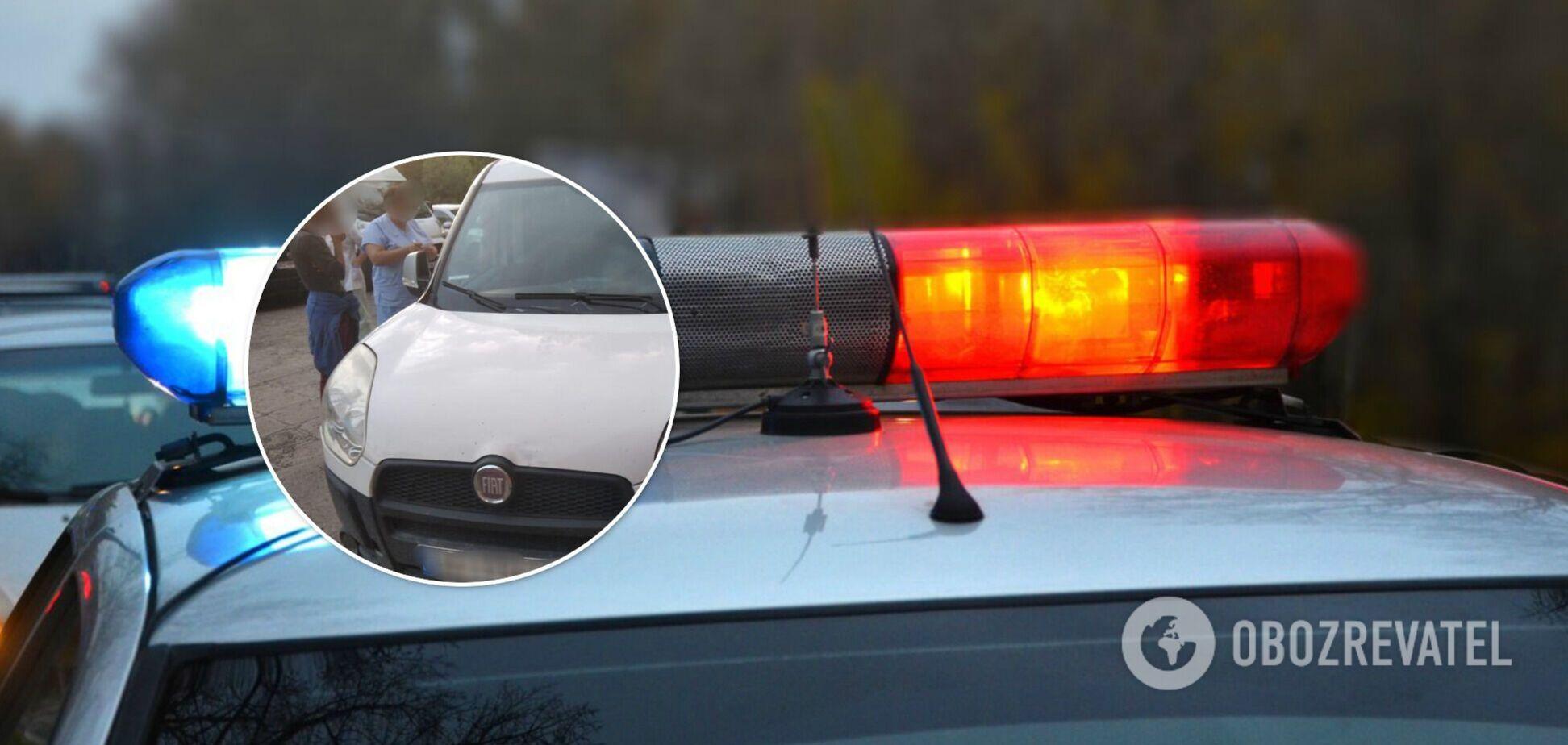 На Закарпатье под колесами авто погибла 2-летняя девочка. Фото