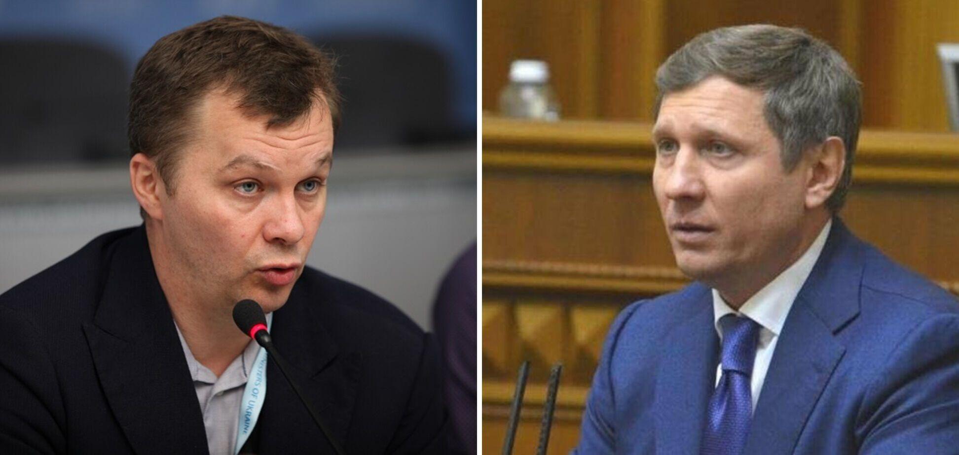 Шахов та Милованов влаштували перепалку в прямому ефірі
