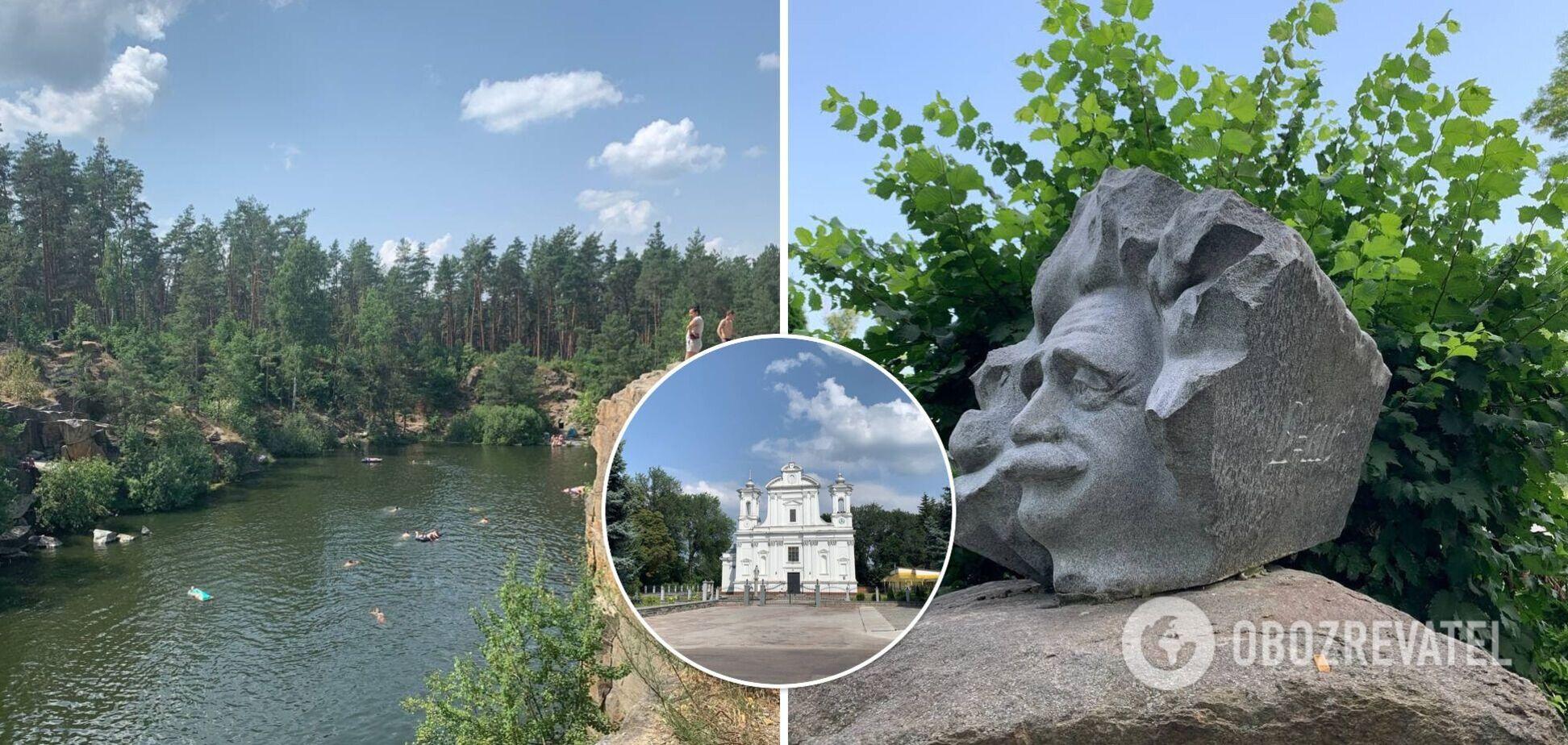 Каньйон, як у США, і місто з граніту: чому варто поїхати з Києва на вихідних і відпочити в Коростишеві. Фото
