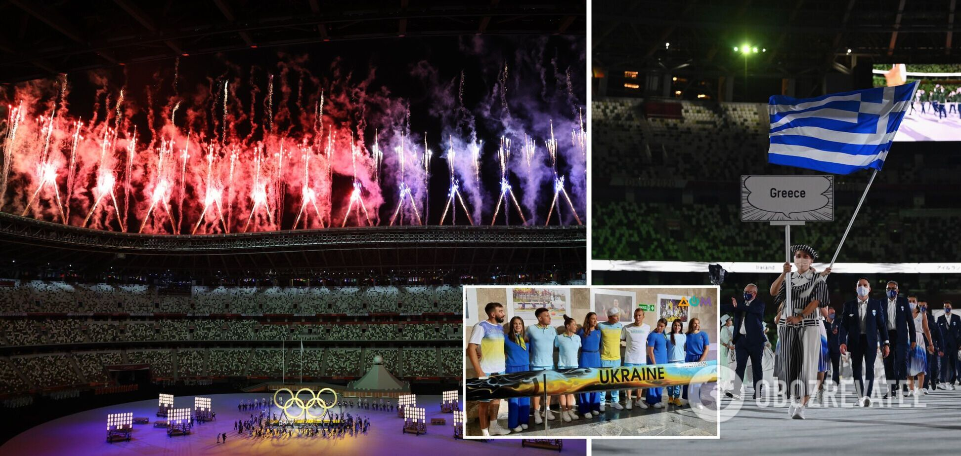 Парад атлетов! Церемония открытия Олимпиады-2020: онлайн-трансляция