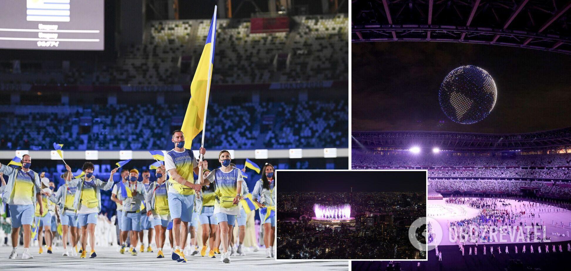 Україну не показали на росТБ, звернення Зеленського, хто запалив олімпійський вогонь: як пройшло відкриття Ігор у Токіо