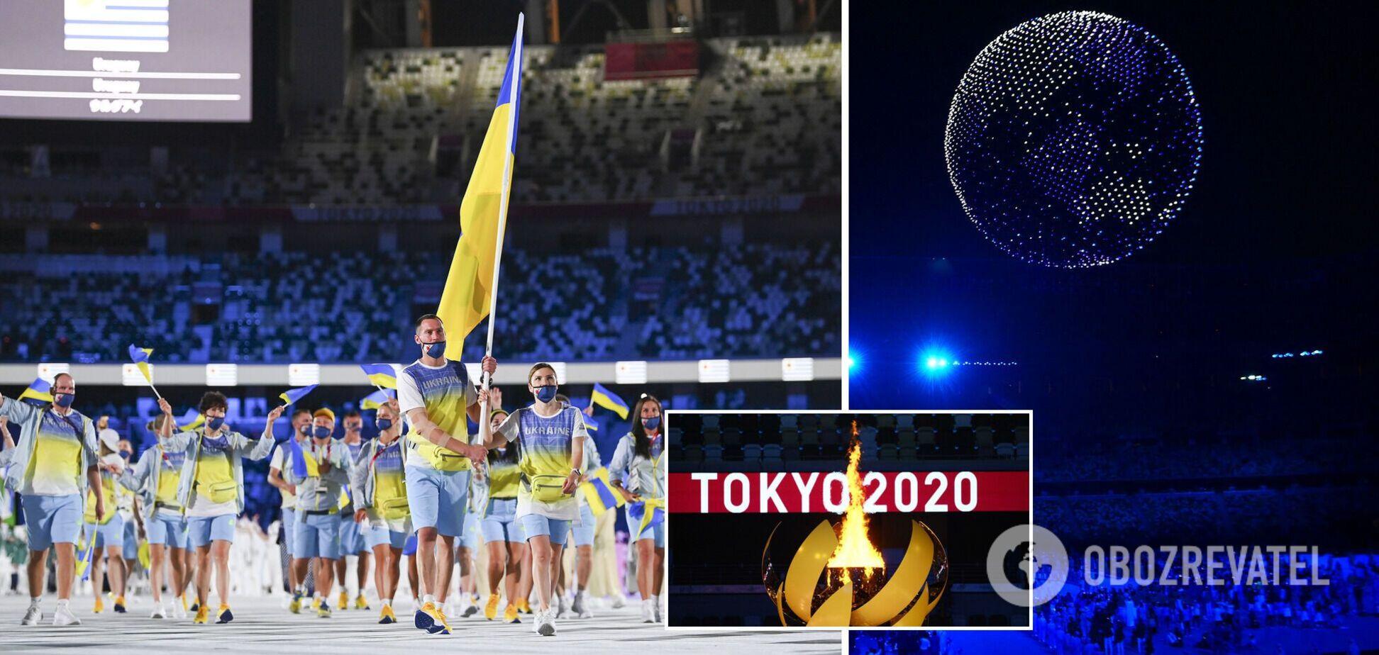 Украину не показали на росТВ, обращение Зеленского, кто зажег олимпийский огонь: как прошло открытие Игр в Токио