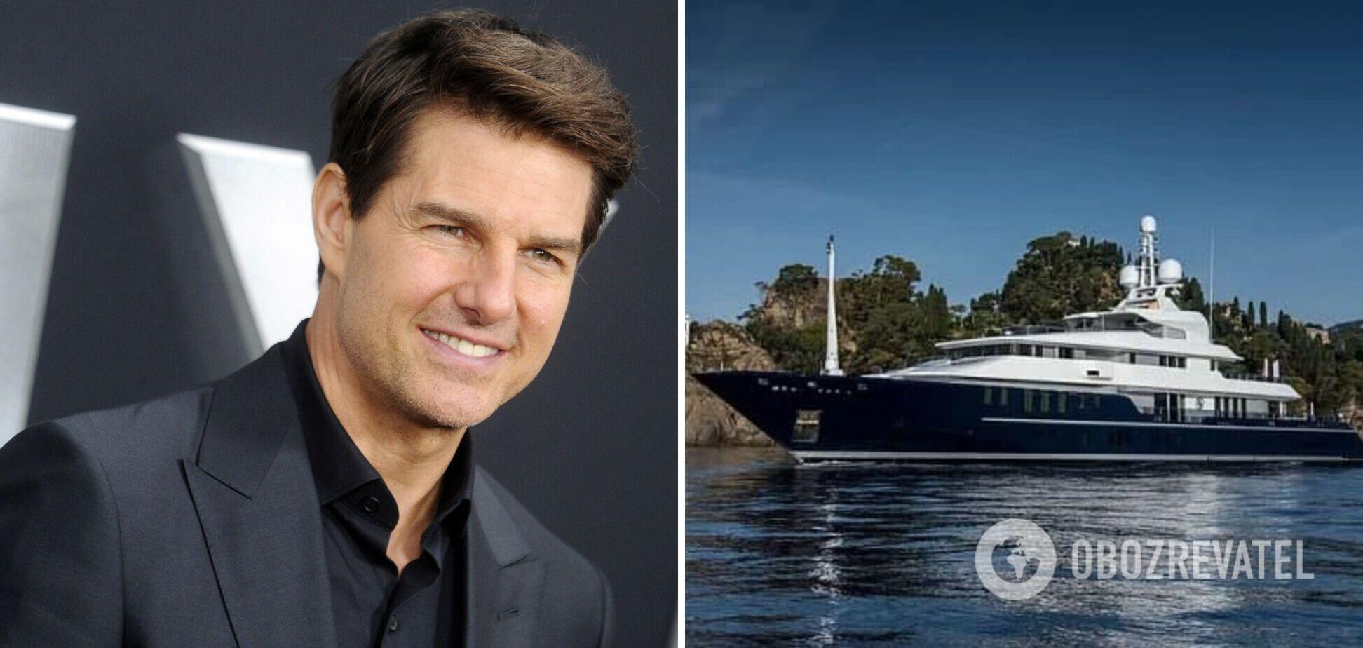 Том Круз отдыхает на яхте за 44 млн долларов: как она выглядит изнутри