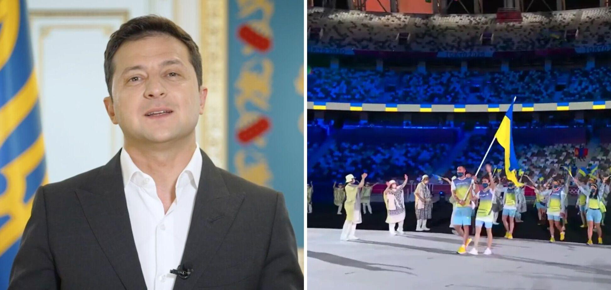 Зеленский – украинским спортсменам в день старта Олимпиады: подарите нам то, что дороже золота! Видео