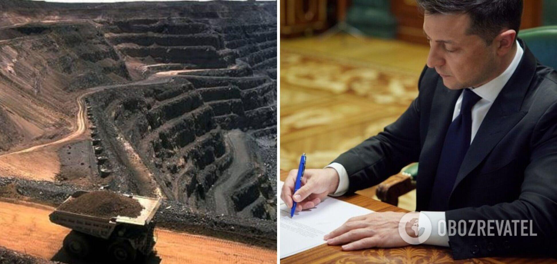 Зеленський підписав указ про 37 видів стратегічних корисних копалин України