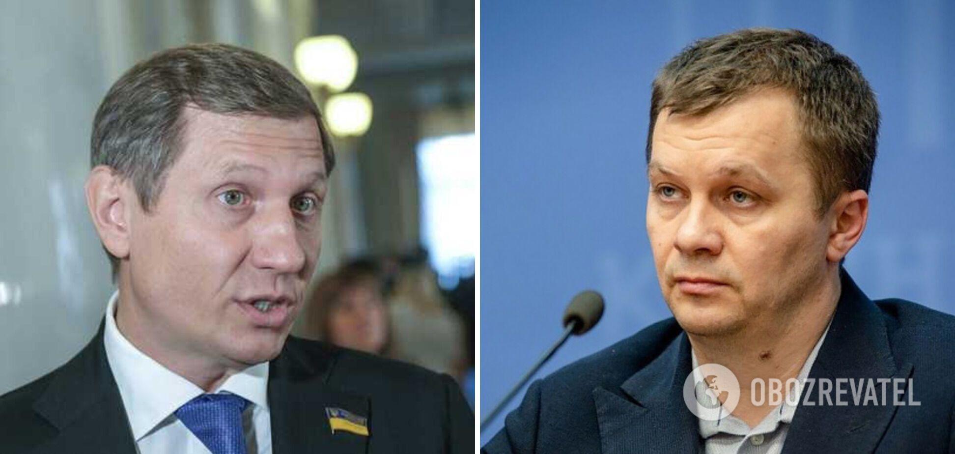 Я приехал на самокате, а вы на Maybach: украинские политики устроили перепалку в прямом эфире. Видео