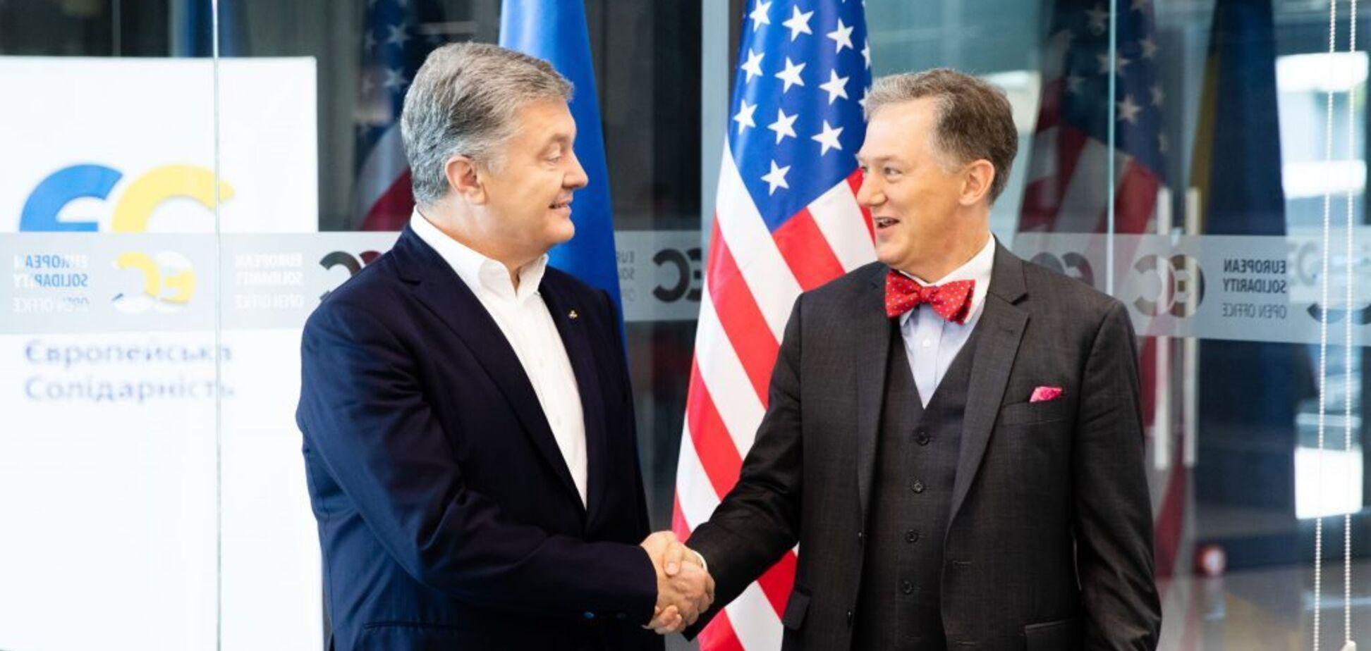 Порошенко під час зустрічі з повіреним у справах США заявив про небезпеку угоди щодо 'Північного потоку-2'